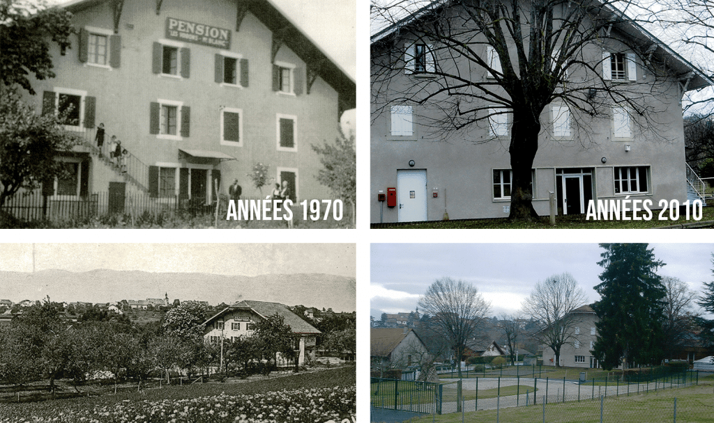 Photos d'archives du centre